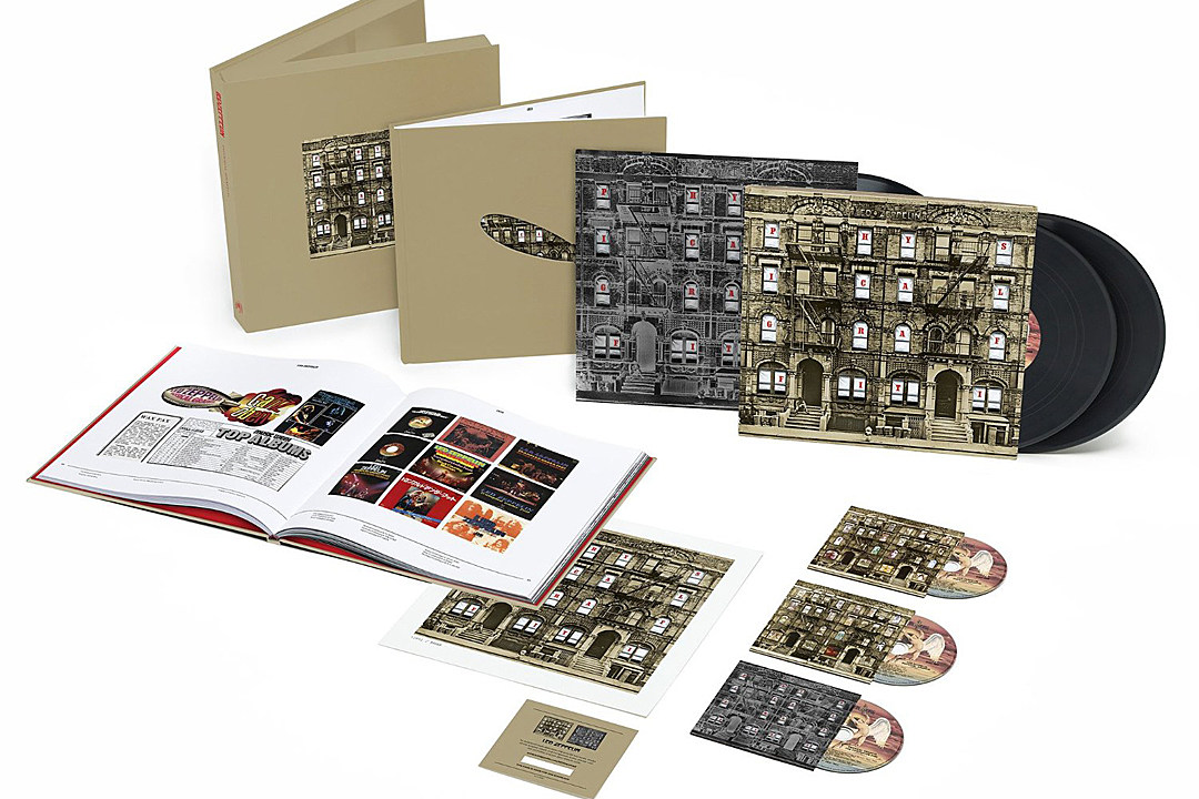 Led Zeppelin's Expanded Three-Disc 'Physical Graffiti' Reissue Announced