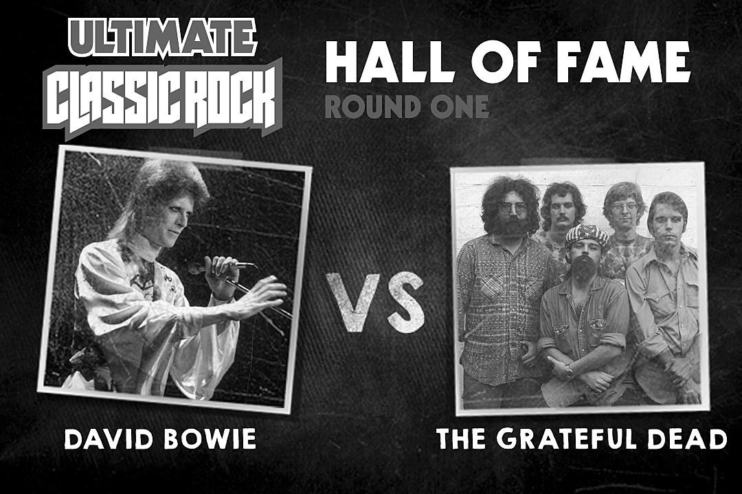 Grateful Dead vs  David Bowie - Ultimate Classic Rock Hall of Fame