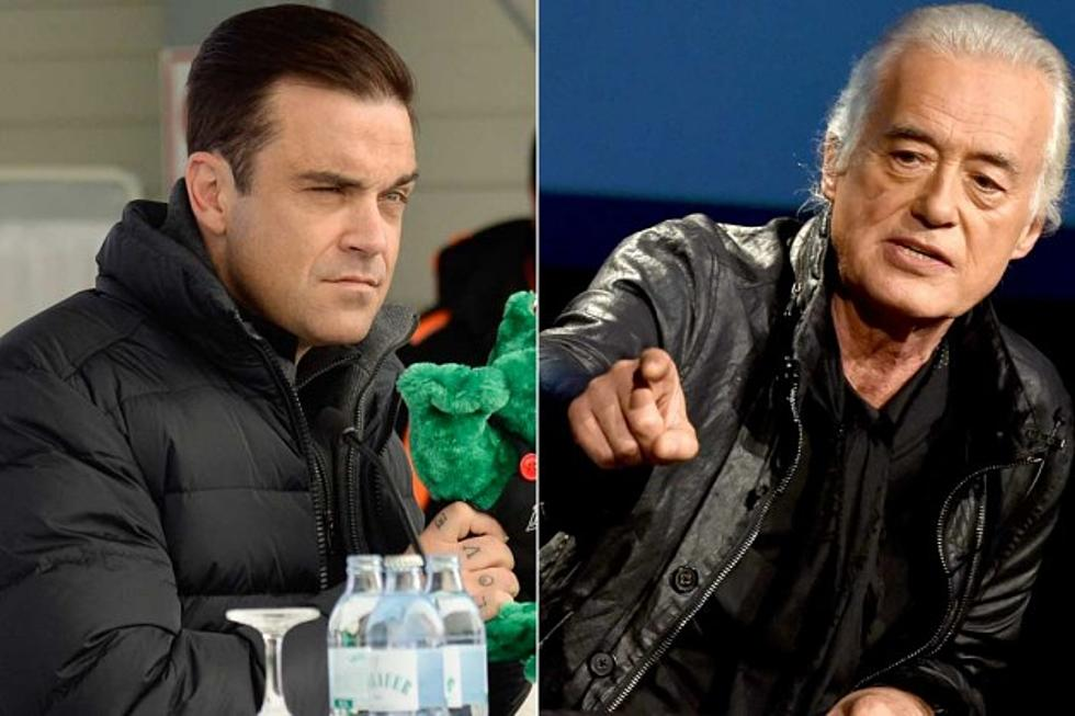 Jimmy Page Angered by Neighbor Robbie Williams' Home Renovation