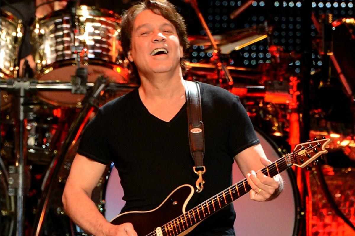 Eddie Van Halen Has Donated 75 Of His Guitars To Public Schools