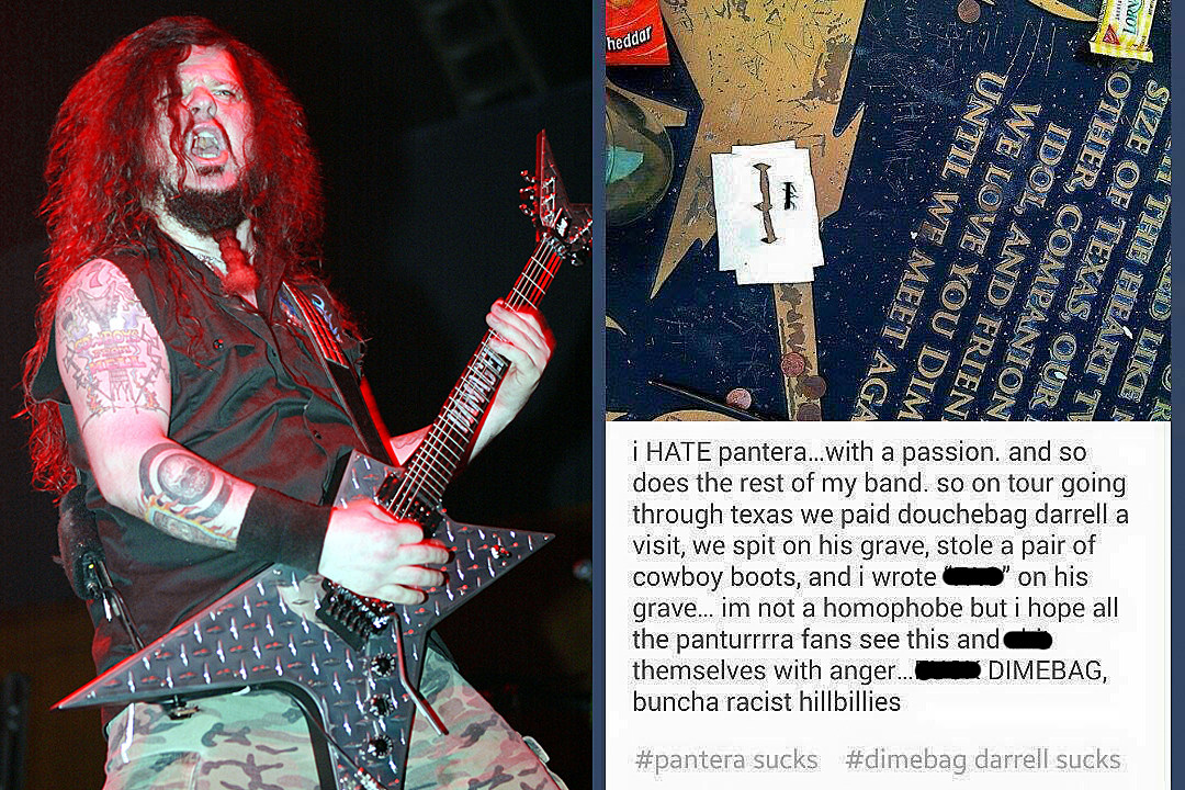 Dimebag Darrell's Grave Reportedly Vandalized