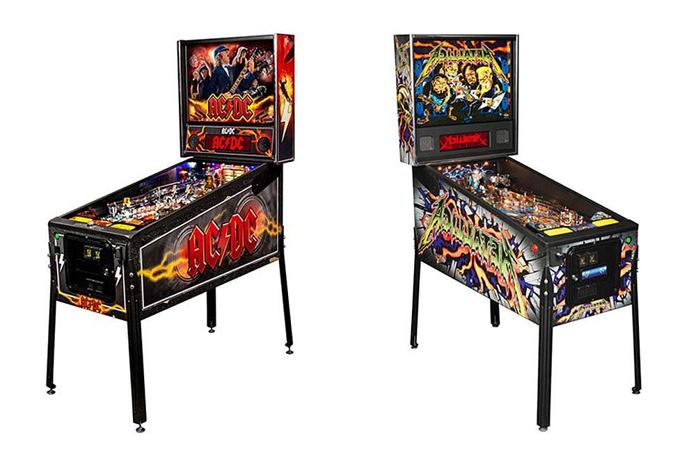 Classic Rock Pinball Machines