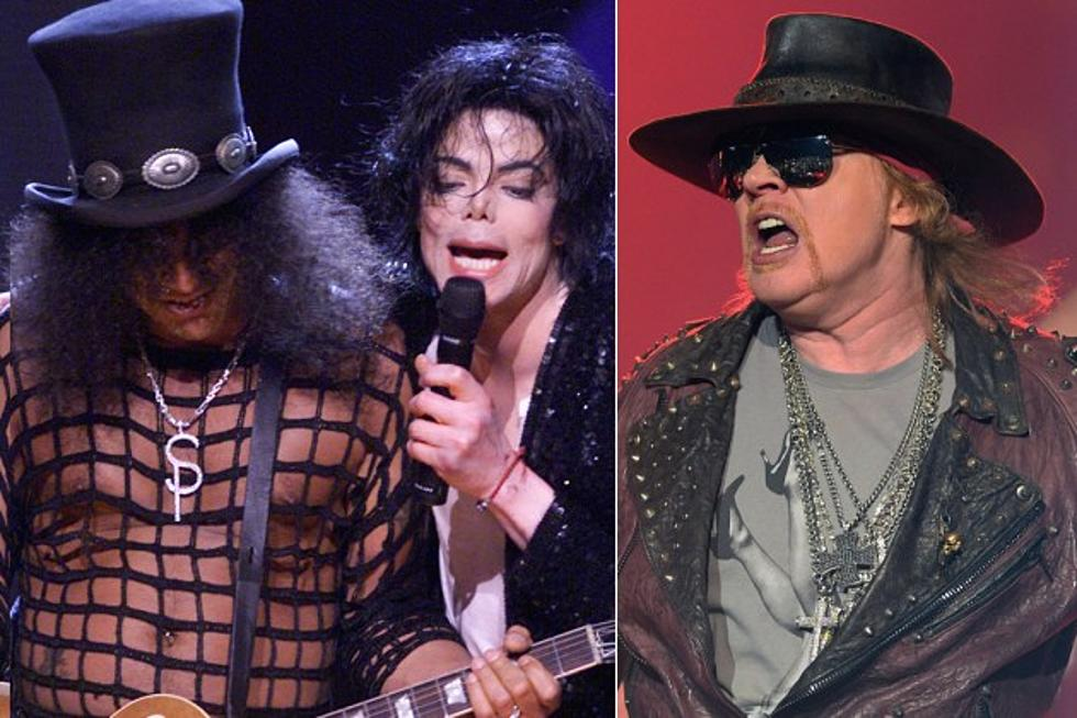 Axl Rose and Slash's Relationship Was Torn Over Michael