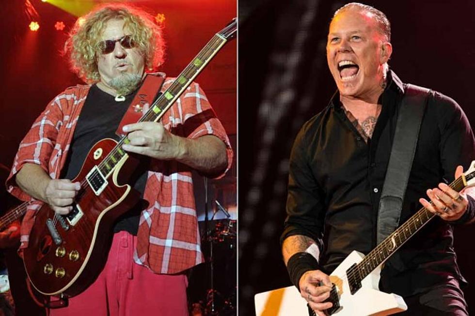 Sammy Hagar and James Hetfield Announce 2015 Acoustic ... on