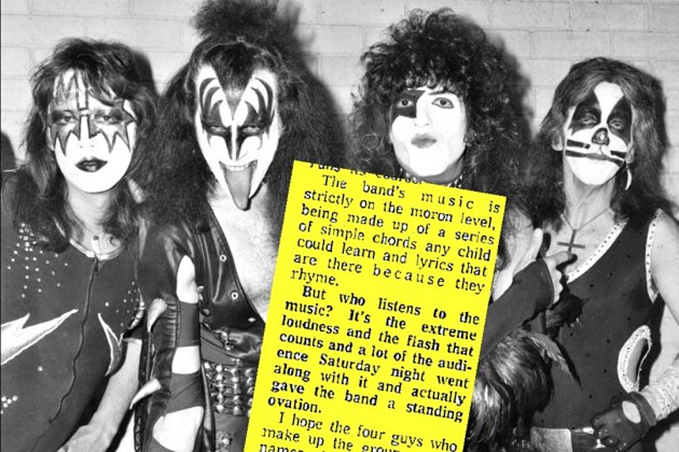 45 Years Ago: Kiss Receive Scathing, Inspiring Concert Review