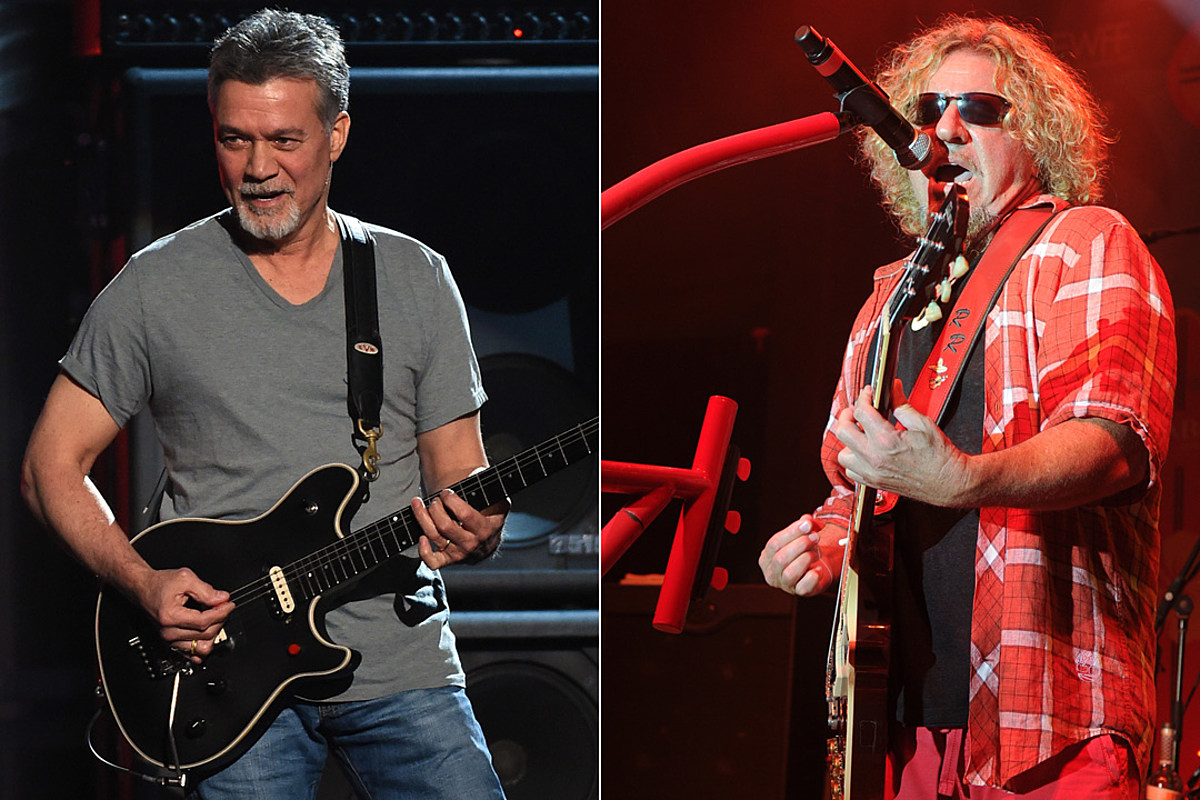 Eddie Van Halen Says Sammy Hagar S Book Was Definitely Embellished