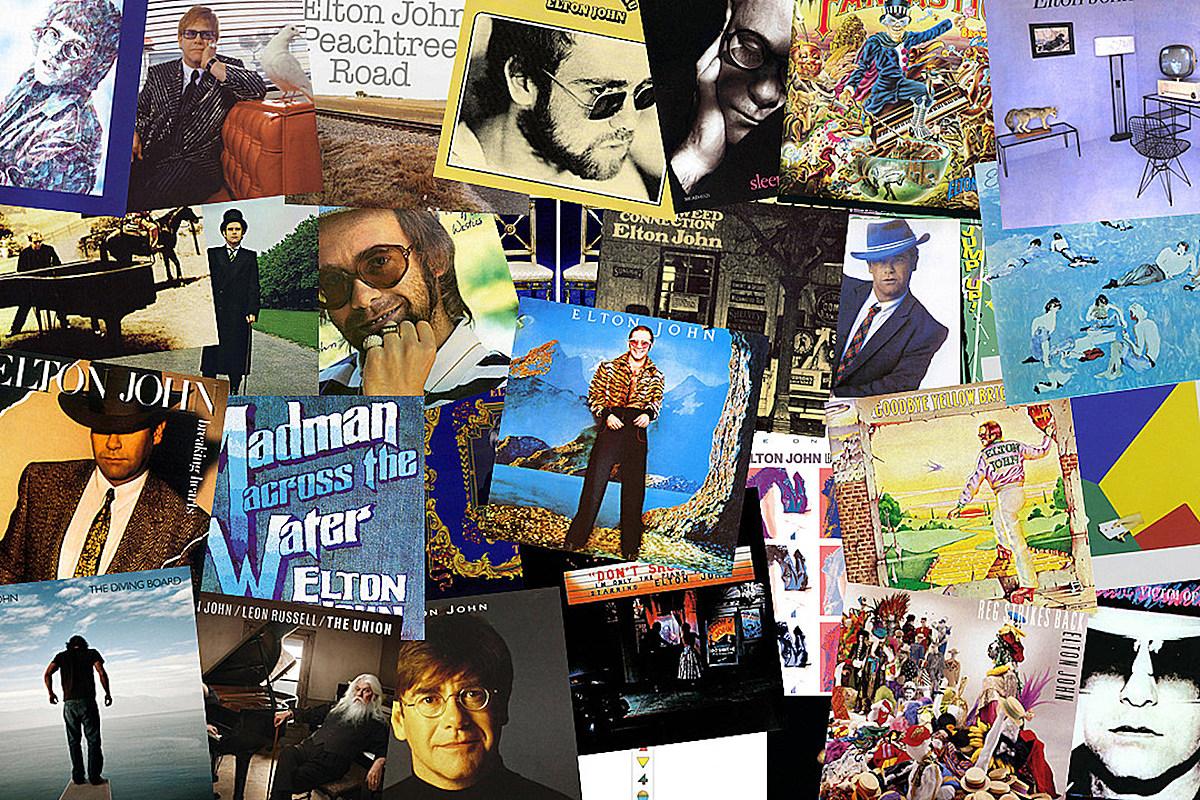 Elton John Albums Rank...