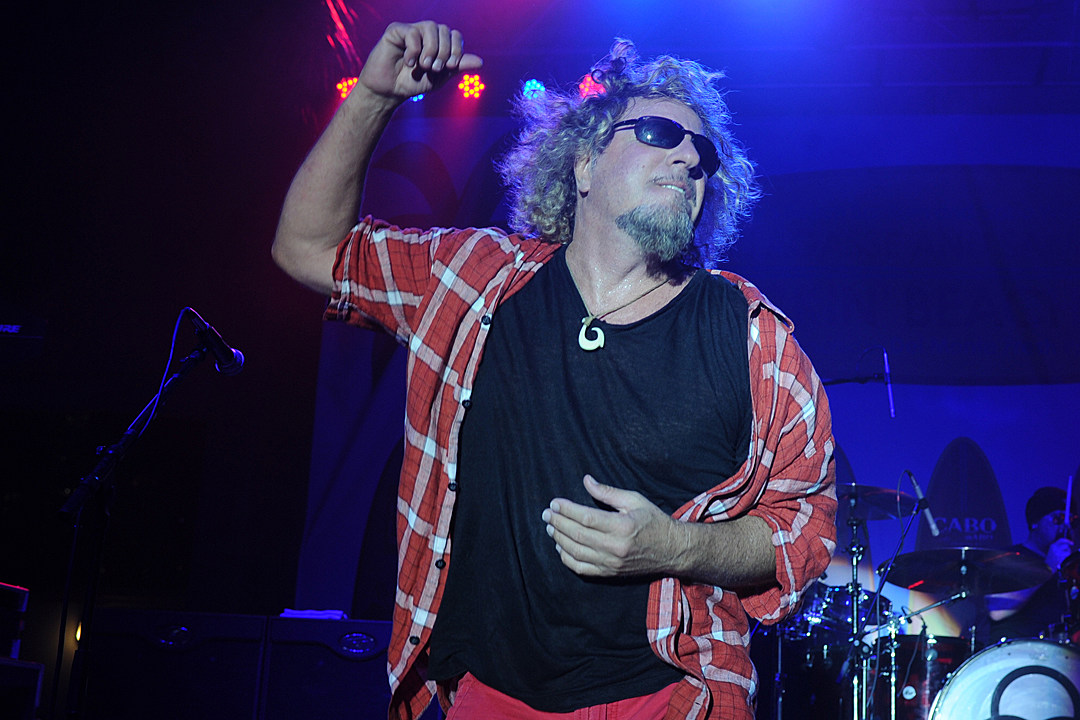 31d3c974 Sammy Hagar Takes a 'Rock & Roll Road Trip' on AXS TV: Exclusive Interview
