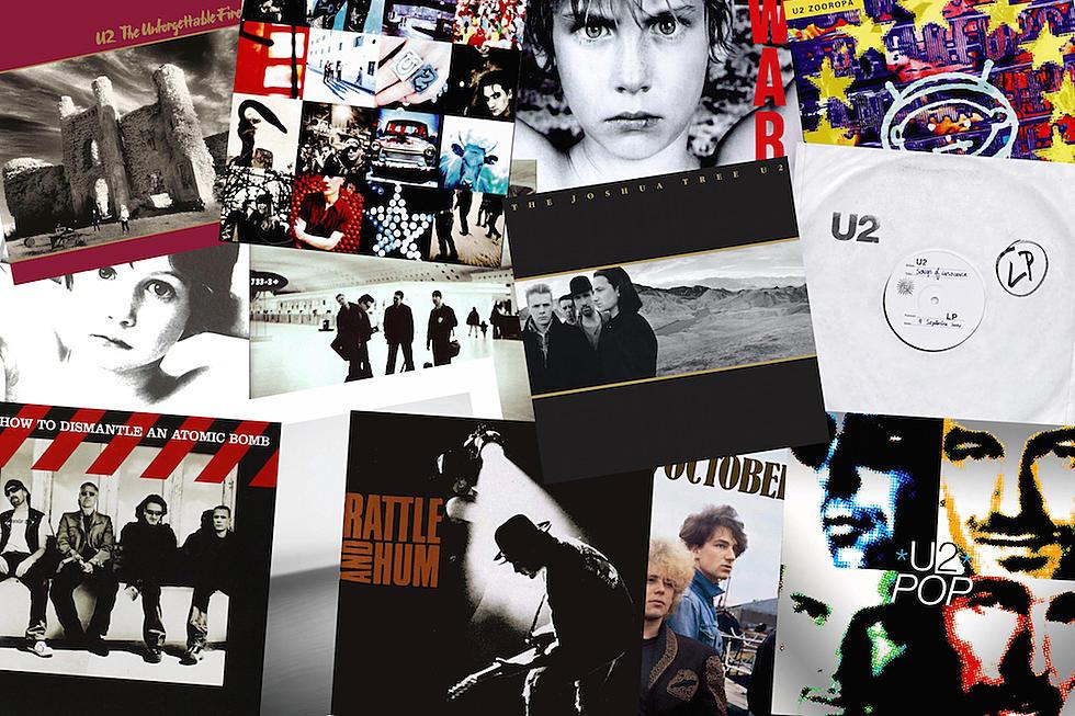 U2 Albums Ranked Worst to Best