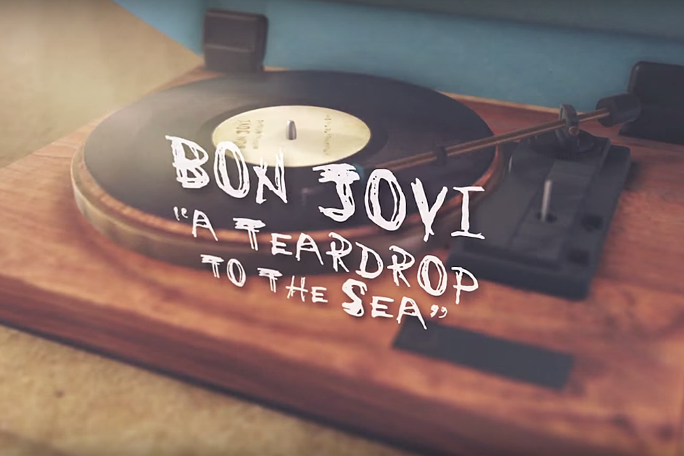 Watch the New Lyric Video for Bon Jovi's 'A Teardrop to the Sea'