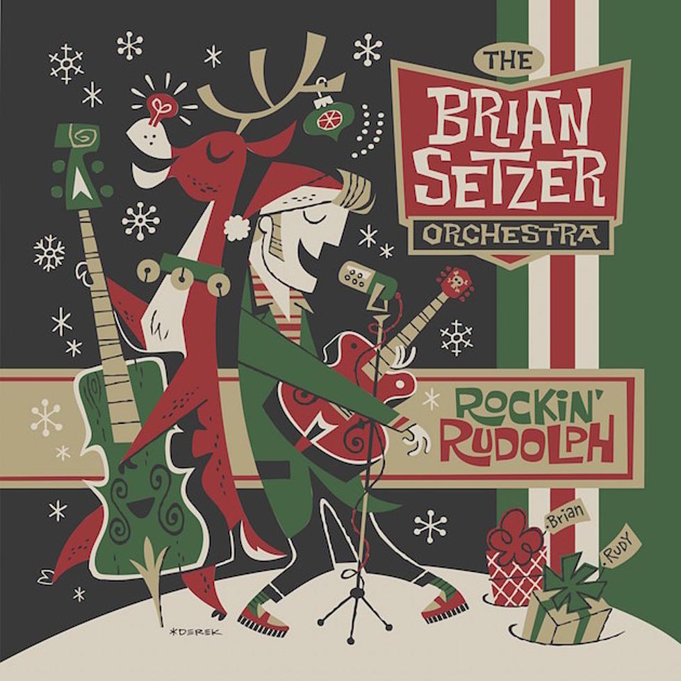 Brian Setzer Christmas.Brian Setzer Announces First Christmas Album In A Decade