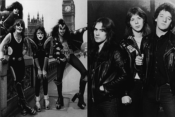 That Time Iron Maiden Supported Kiss' 'Unmasked' Tour