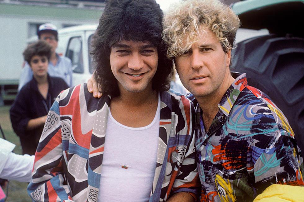 When Sammy Hagar and Eddie Van Halen Performed Live for the
