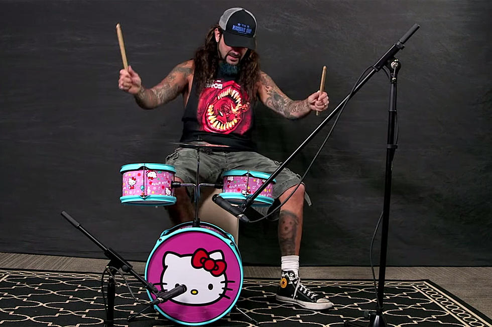 Watch Mike Portnoy Play Classic Rock and Metal Songs Behind