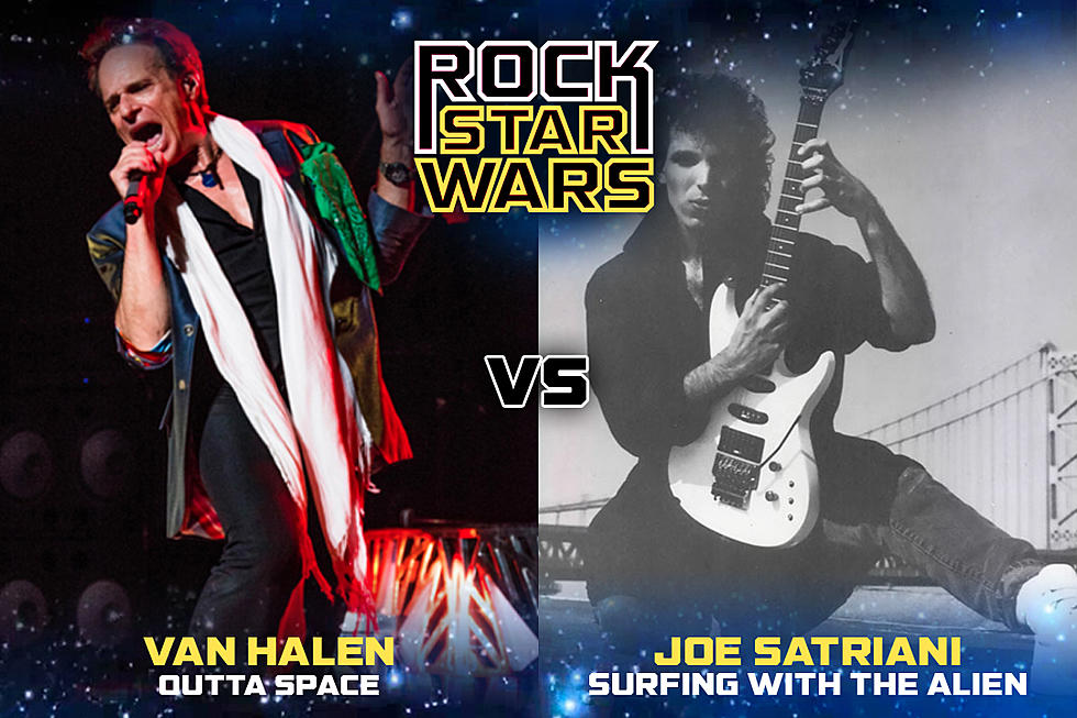 Van Halen Outta Space Vs Joe Satriani Surfing With The