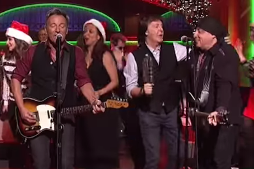 Watch Paul McCartney Join Bruce Springsteen on 'Saturday