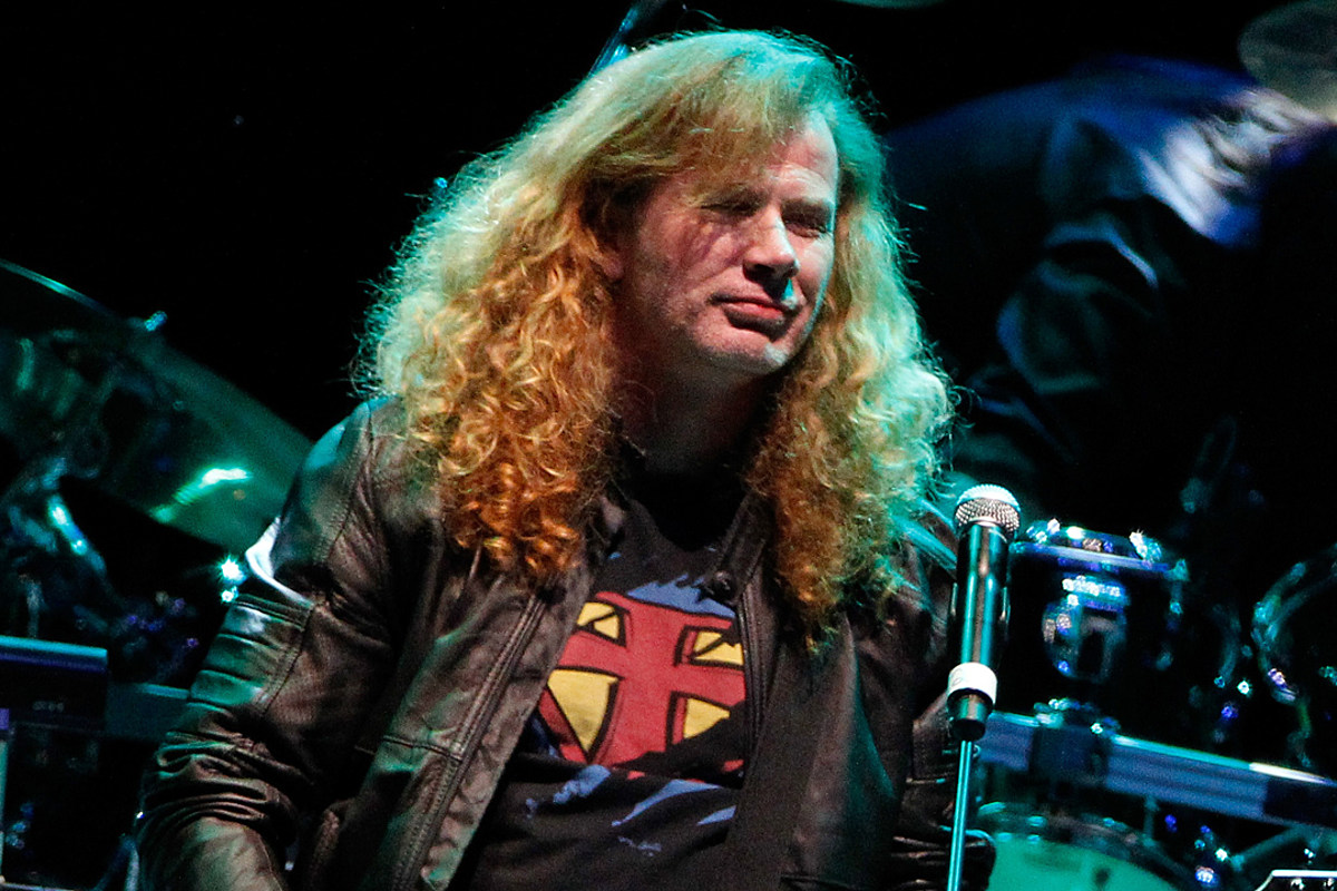 Dave Mustaine Diagnosed With Throat Cancer