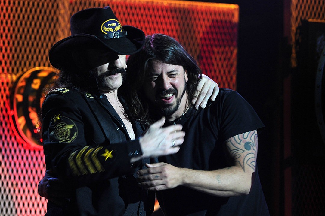 1f2893495 Dave Grohl Got an 'Ace of Spades' Tattoo in Honor of Lemmy