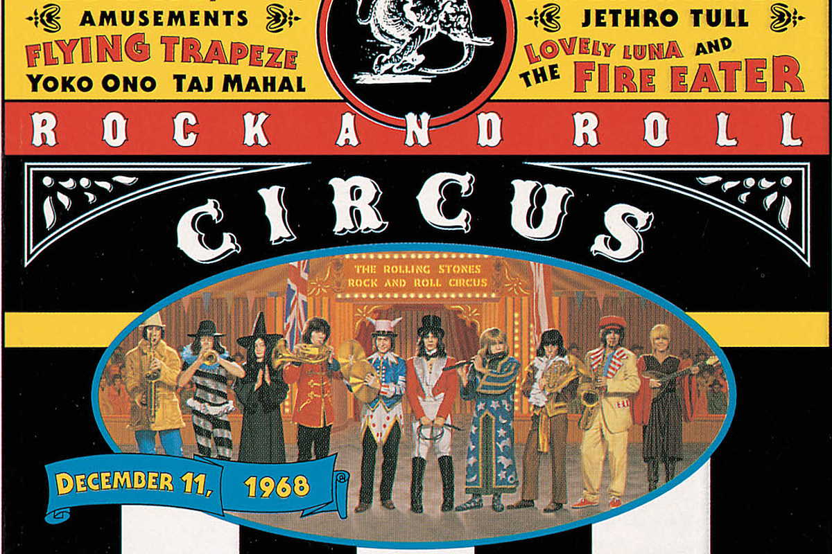 why the rolling stones shelved their 39 rock and roll circus 39. Black Bedroom Furniture Sets. Home Design Ideas