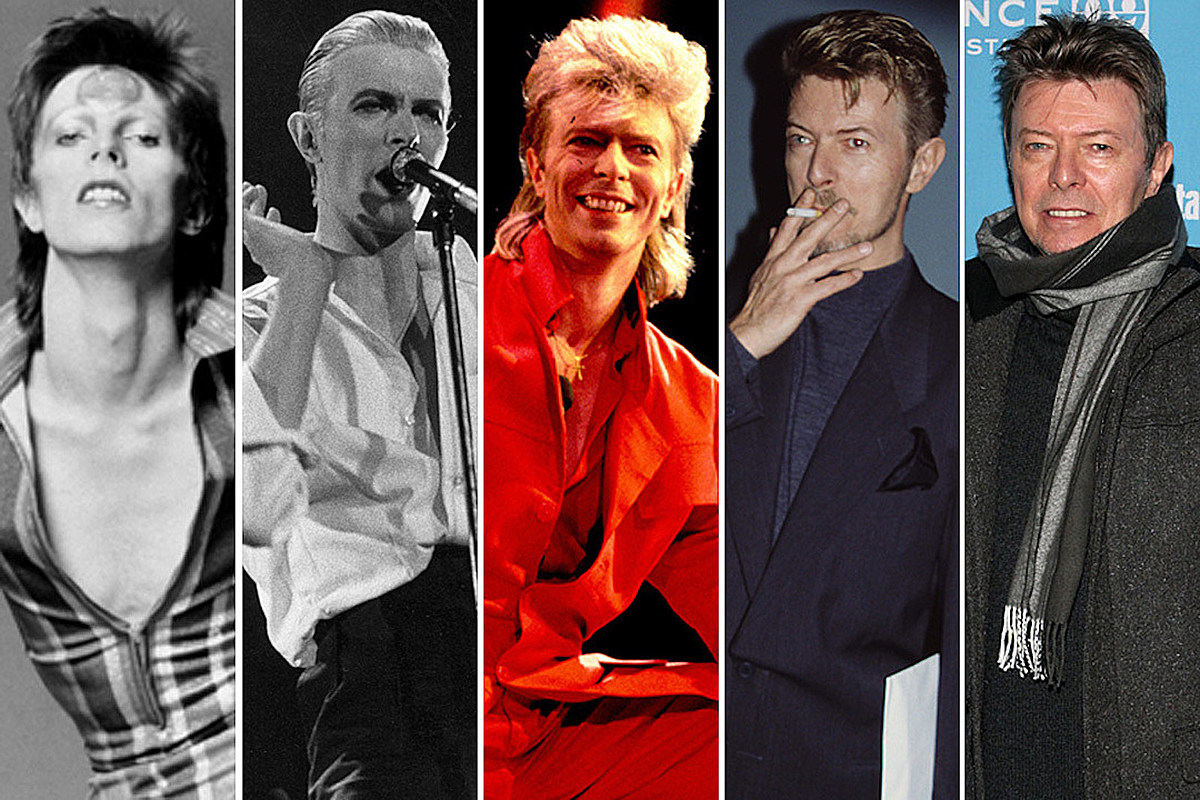 David Bowie Year by Year: 1965-2016 Photographs