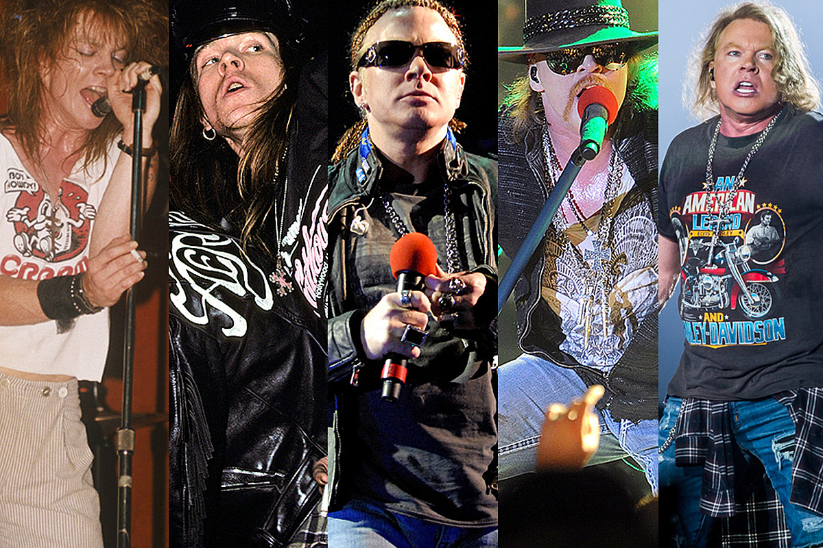 Axl Rose Year By Year 1984 2020 Photos