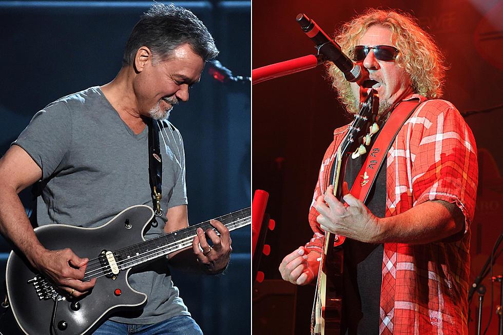8b959875 Sammy Hagar Downplays Van Halen Reunion Talk: 'I Just Want to Be Friends'