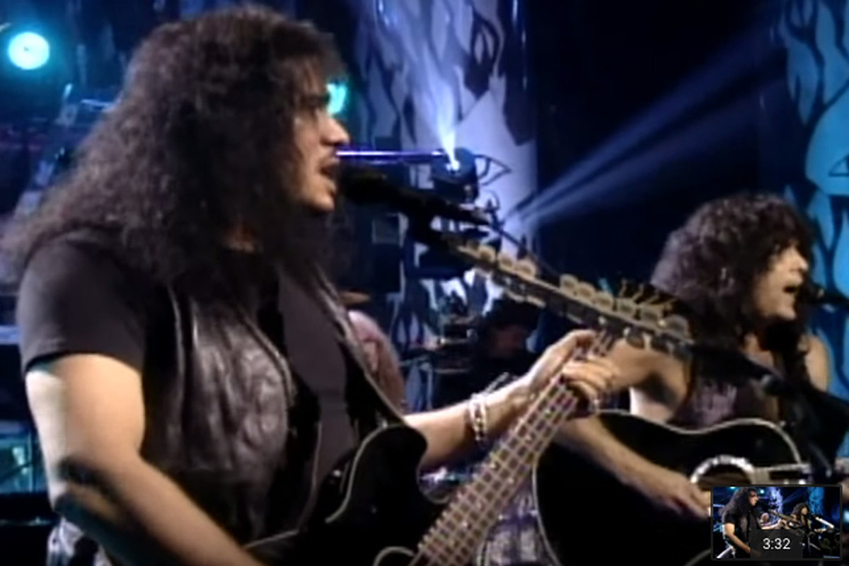 When Kiss Reunited, Then Went Acoustic, on 'Unplugged'