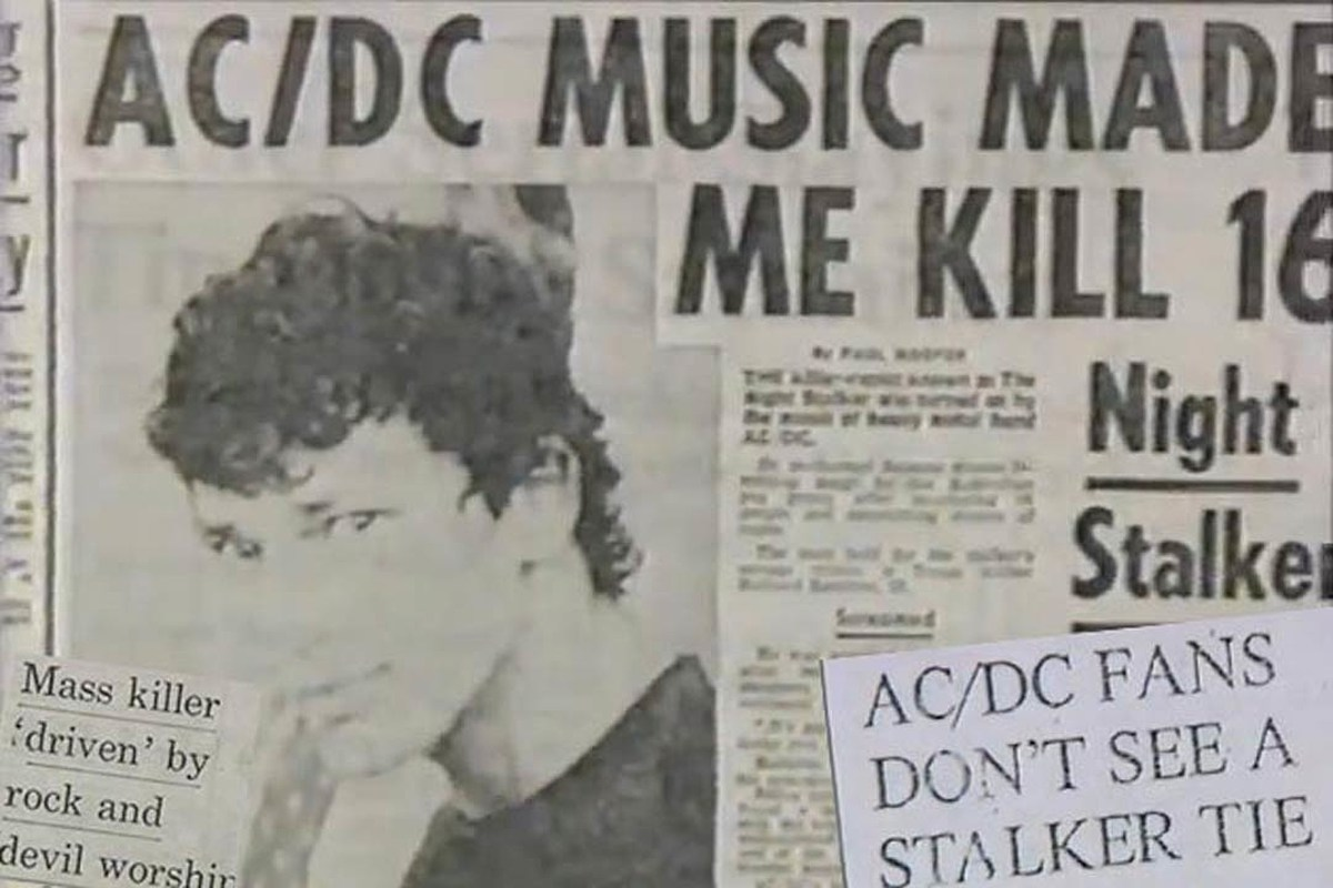 The History Of AC DC And Night Stalker Murders