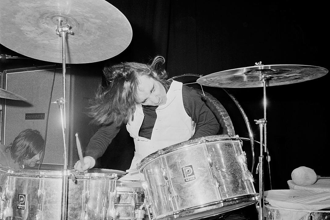The Day Keith Moon Collapsed Behind His Drum Kit in Boston