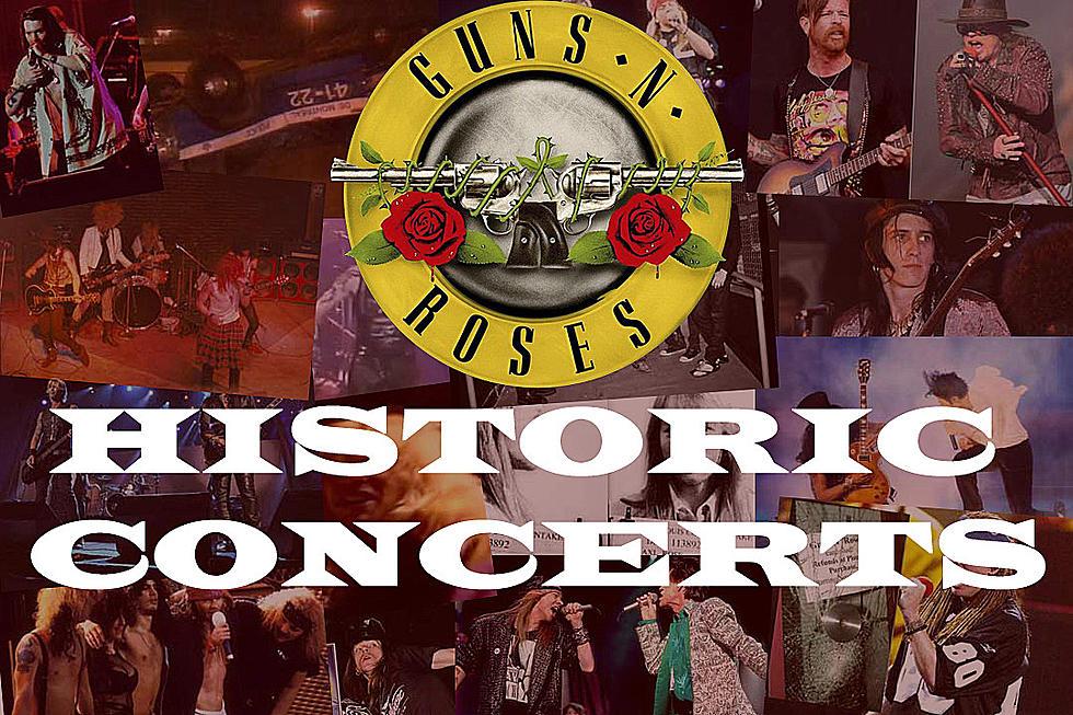 Guns N' Roses' 20 Most Historic Concerts