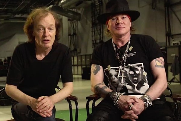 AC/DC Post Tour Invitation Video With Axl Rose