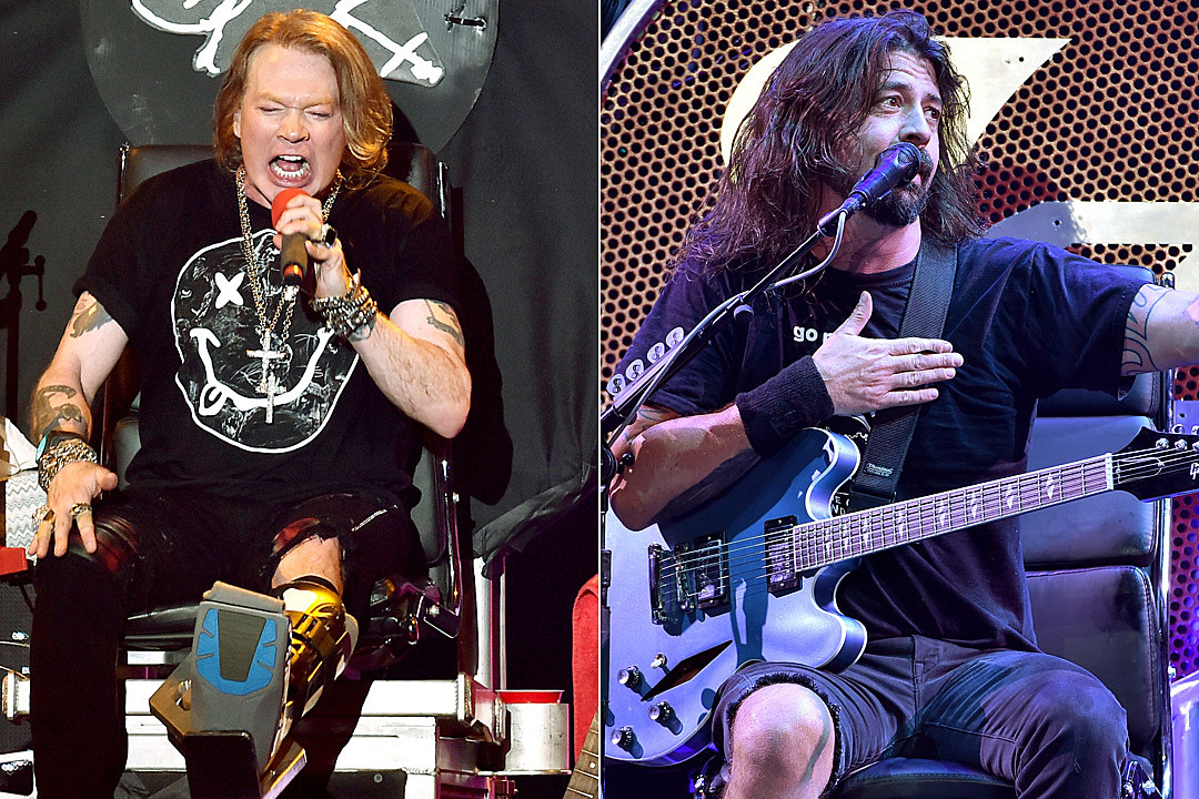 Hero Bassist Using Same Stage Throne as Axl Rose and Dave Grohl