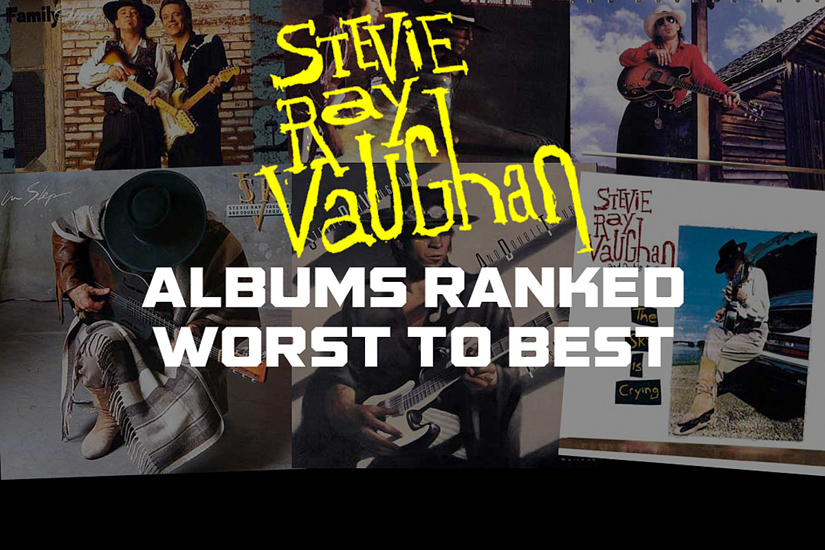 Stevie Ray Vaughan Albums Ranked Worst to Best
