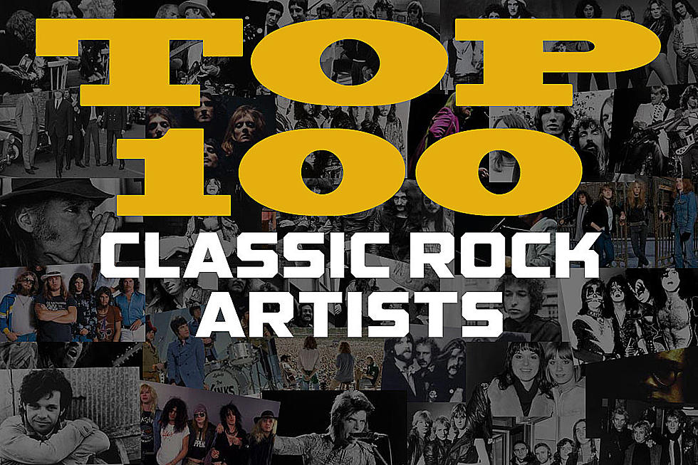 Top 100 Classic Rock Artists