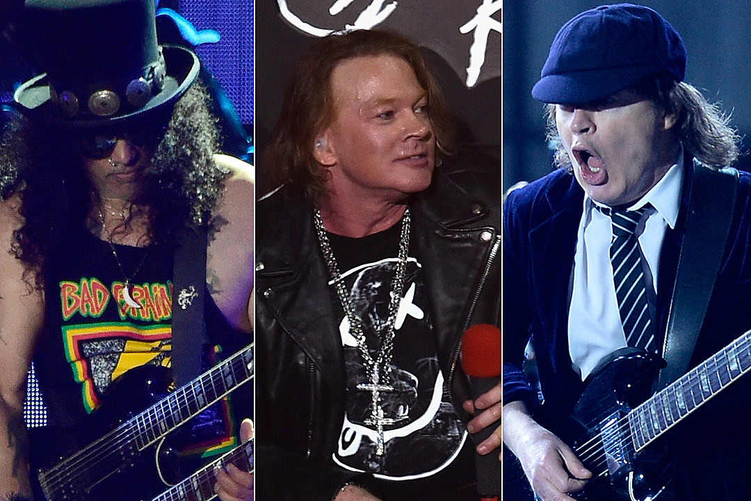 Axl Rose Teases Possible New Music with Guns N' Roses and Angus Young