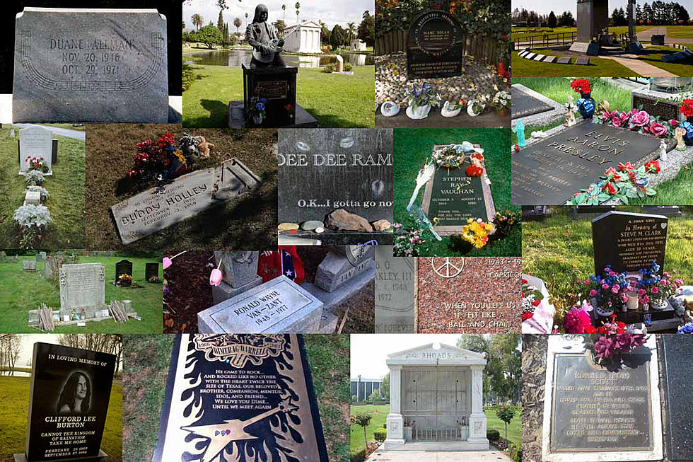 Rock's Most Famous Graves