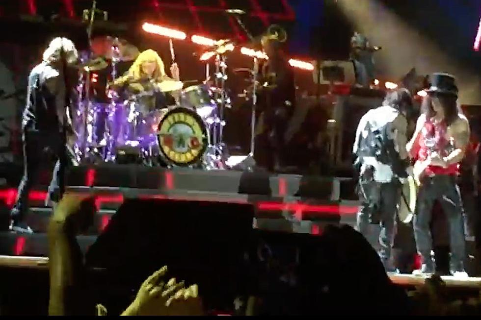 Steven Adler Plays Two Songs With Guns N' Roses in Los Angeles