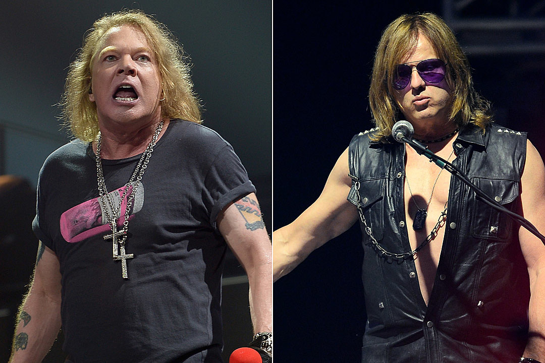 Axl Rose Being Sued by Former Guns N' Roses Keyboardist Chris Pitman