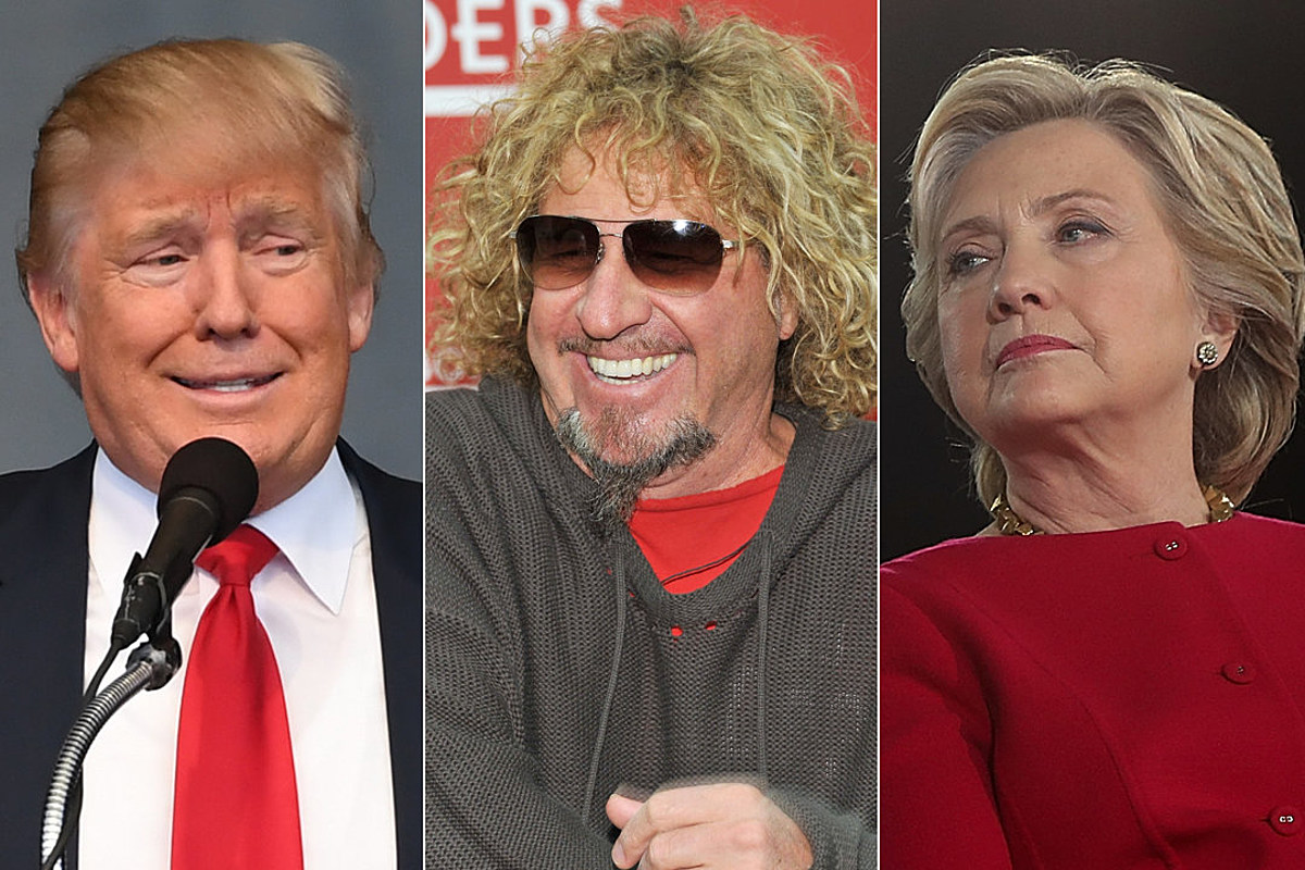 Sammy Hagar Says U S Has Never Had Two Less Likable Candidates