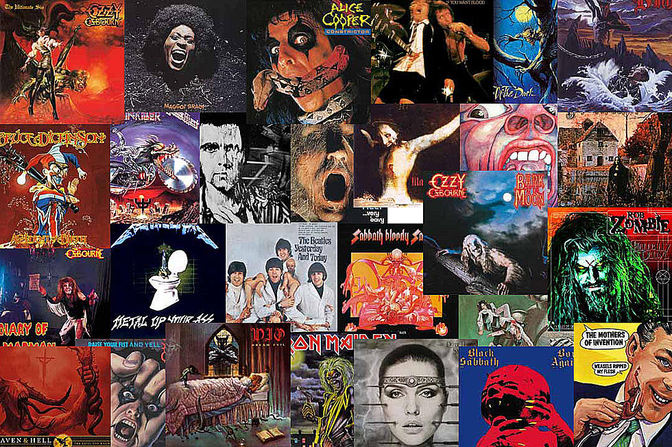 Rock's 30 Scariest Album Covers