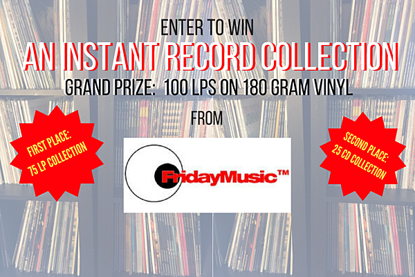 Enter To Win An Instant 100 Lp Record Collection From