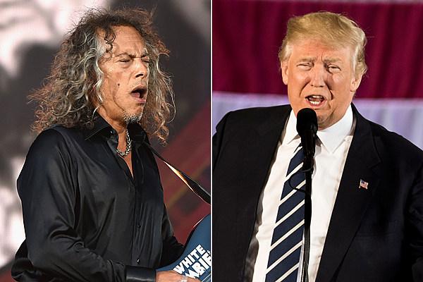 Metallica's Kirk Hammett Wants to Get Into a Twitter War With Donald Trump