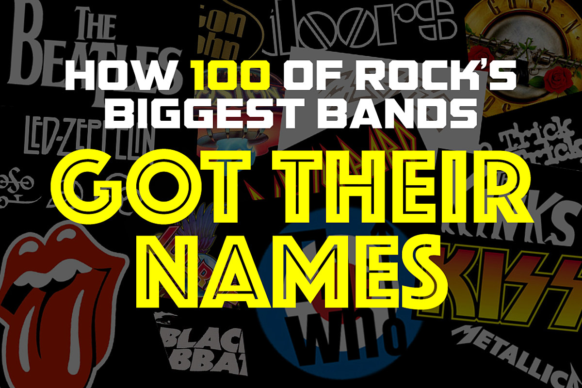 How 100 of Rock's Biggest Bands Got Their Names