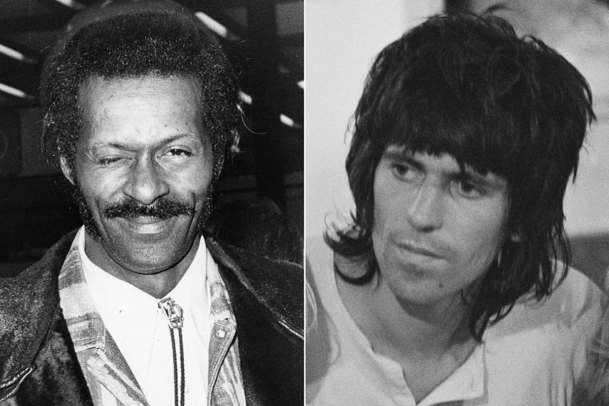 That Time Chuck Berry Kicked Keith Richards Off His Stage