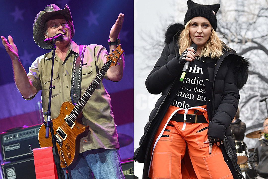 e1ceb978d04 Ted Nugent Wants the Secret Service to Investigate Madonna