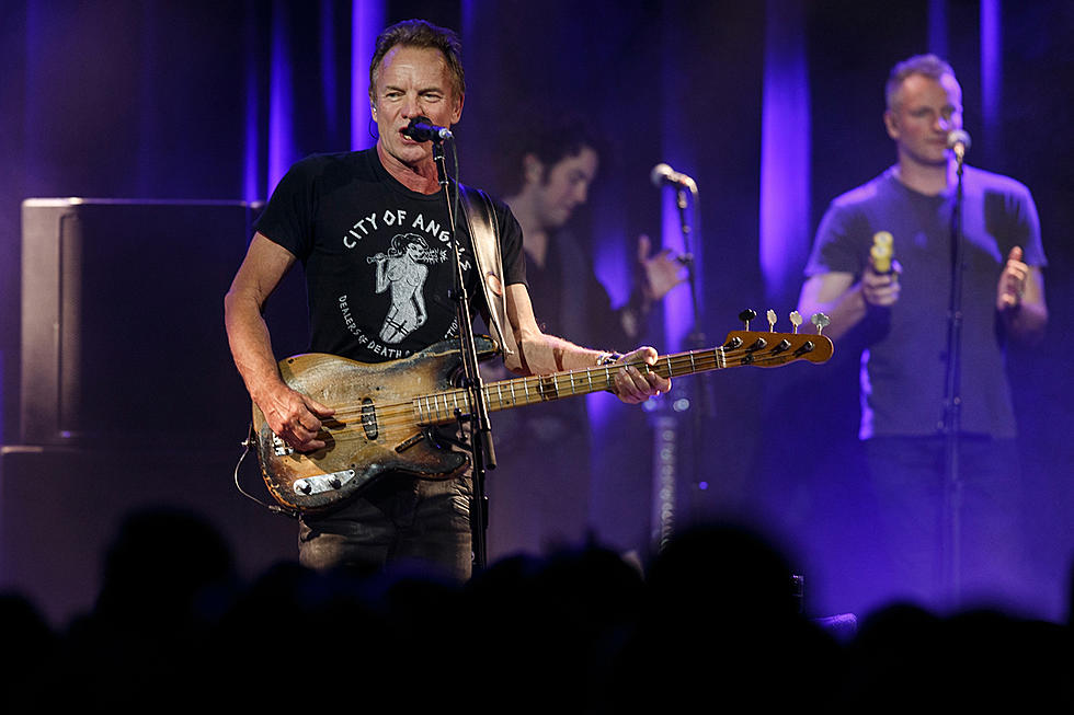 Sting Covers David Bowie's 'Ashes to Ashes' on '57th & 9th