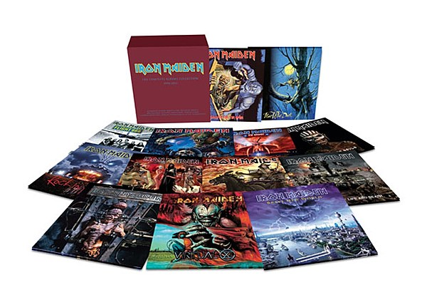 Iron Maiden Vinyl Reissues Continue With 12 Lp Second Round