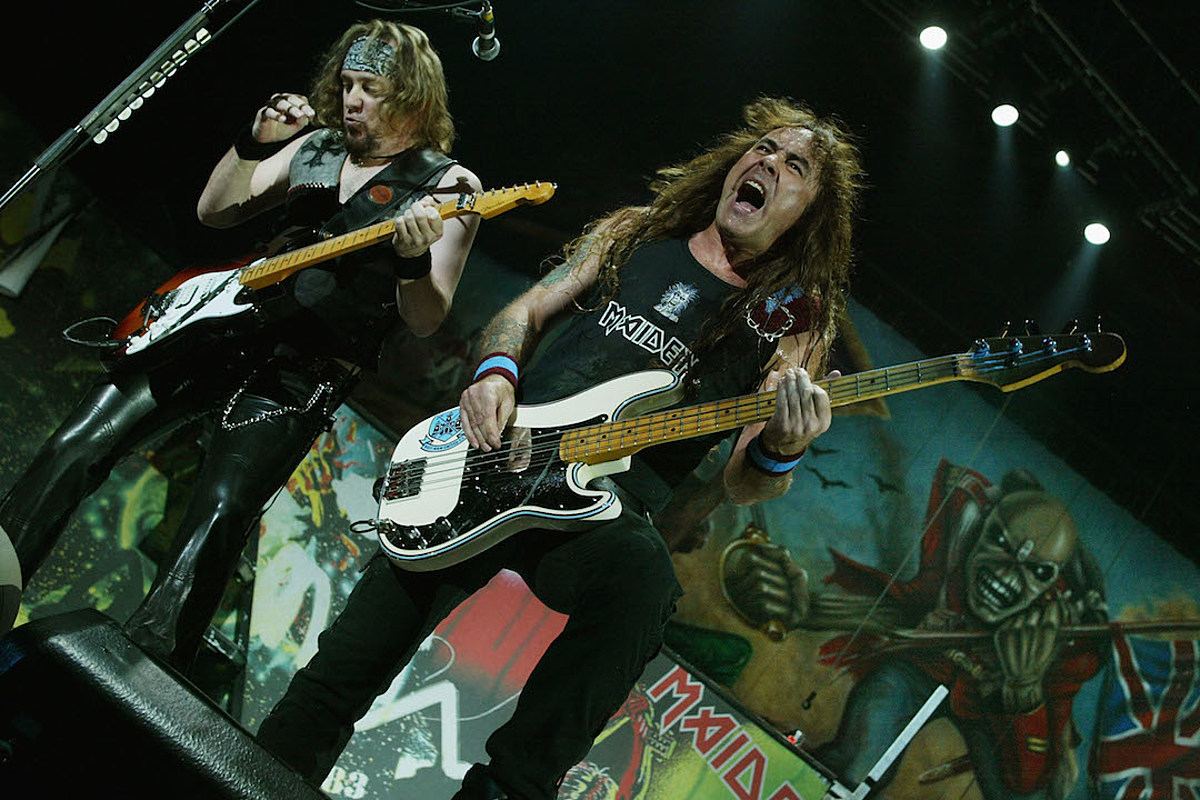 Steve Harris: Remember Iron Maiden as a 'Bloody Good Live Band'