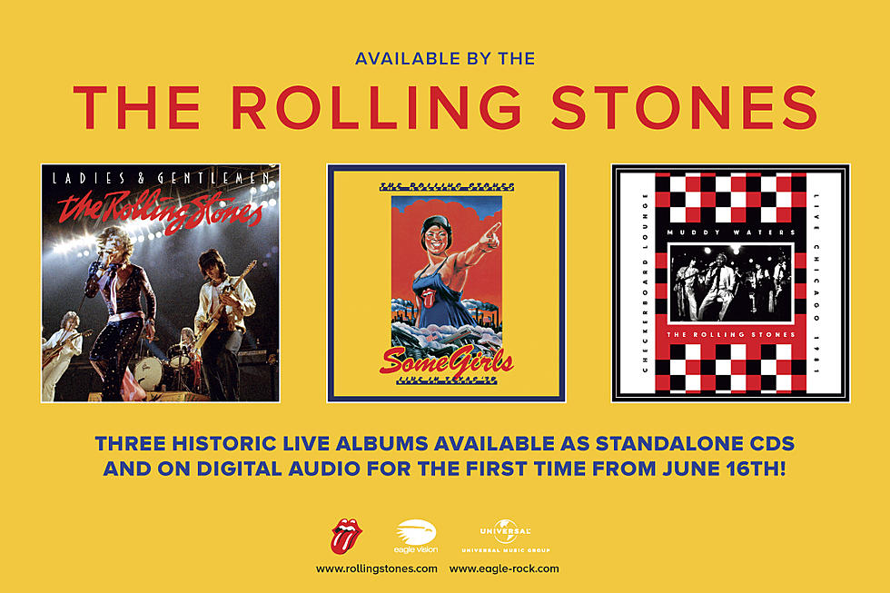 Three Historic Rolling Stones Live Albums Now Available for