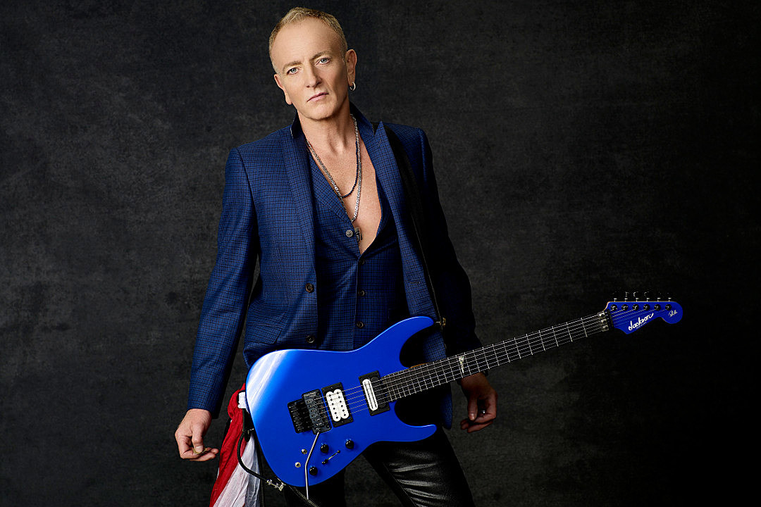 Def Leppard S Phil Collen Recalls Letting Off Steam With His Guitar Exclusive Interview
